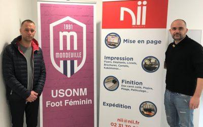 NII, imprimeur officiel de l'USONM Football !
