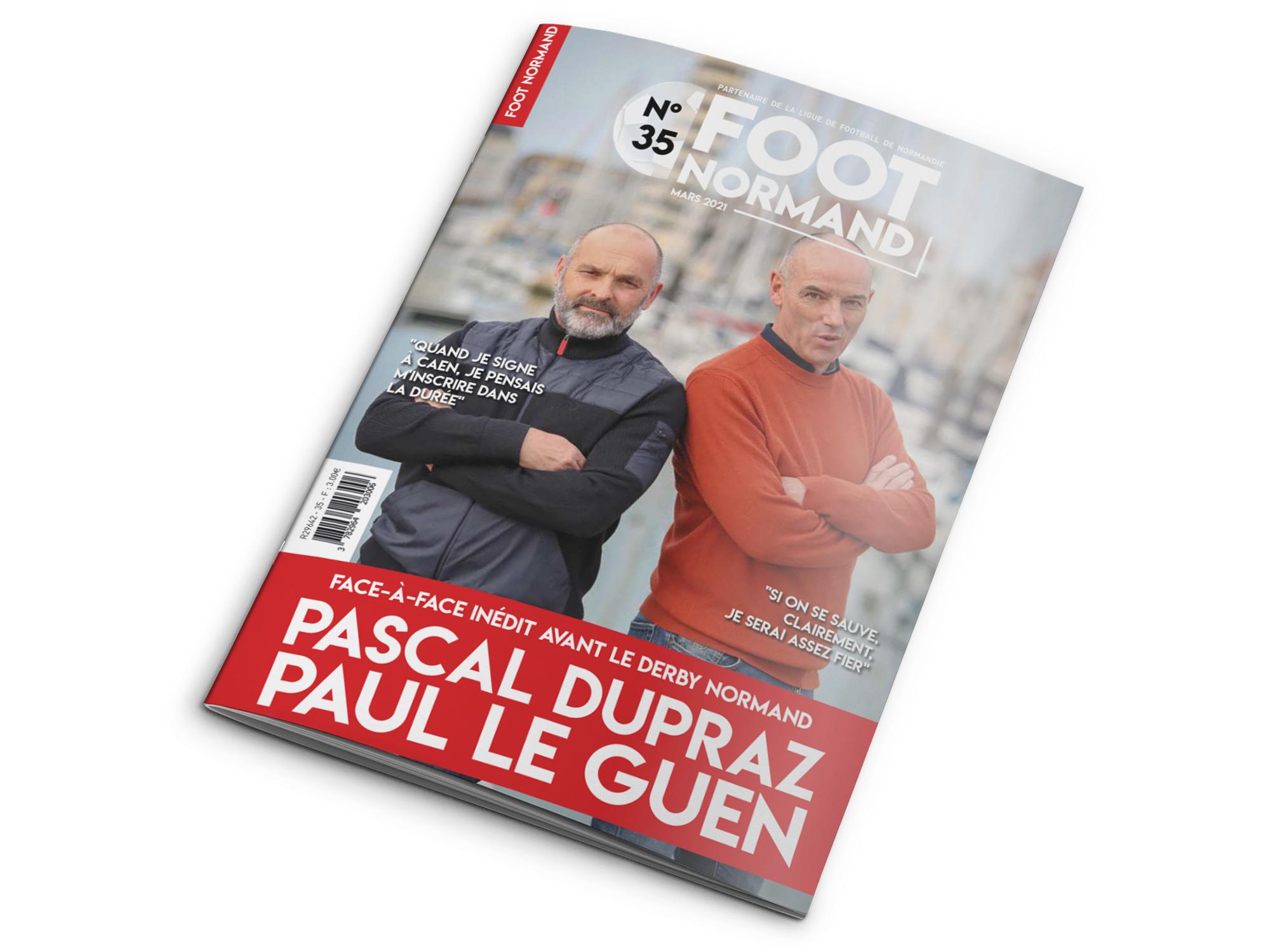 Magazine Foot Normand réalisé par l'imprimerie NII