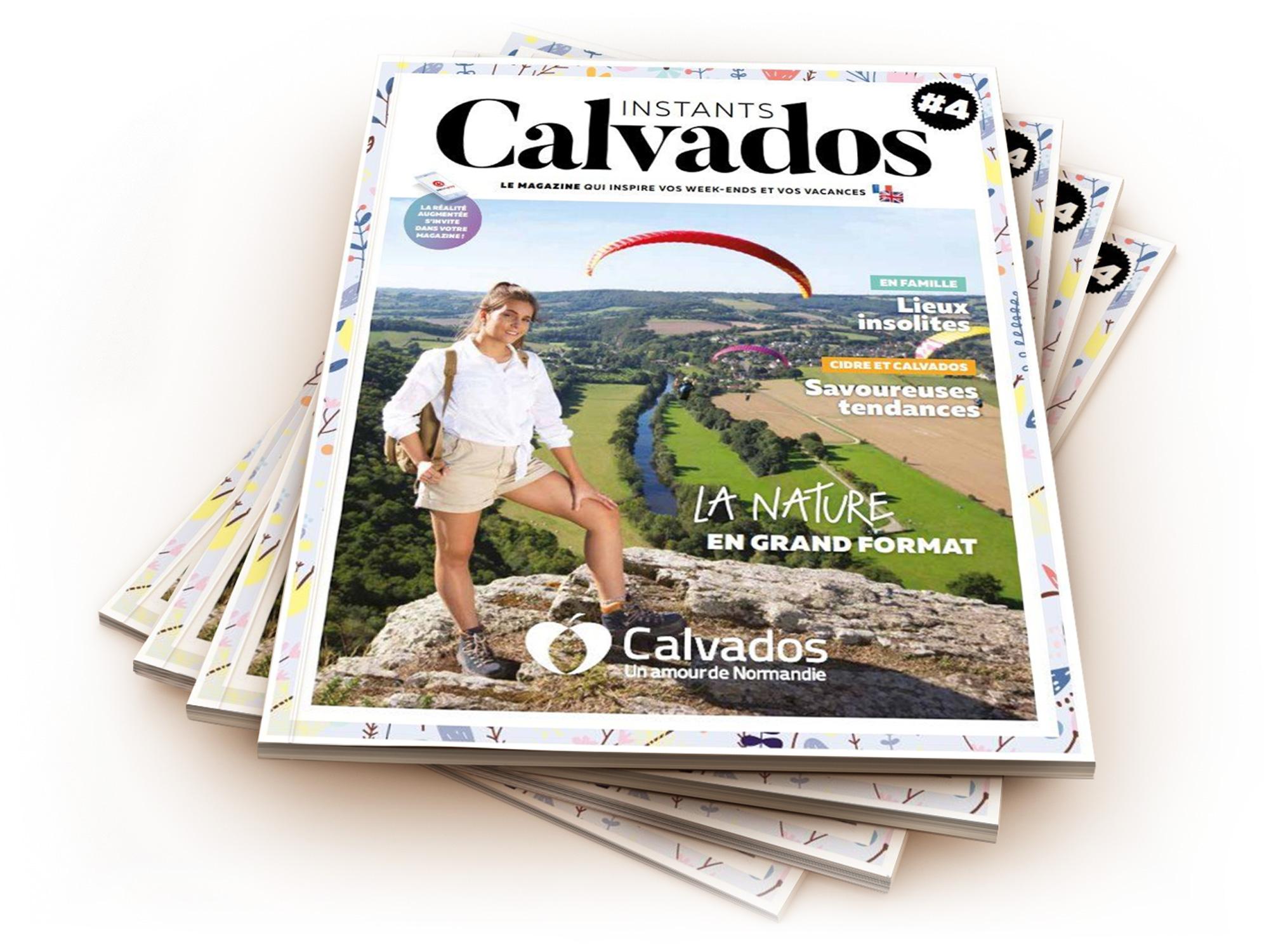 Magazine Instant Calvados réalisé par l'imprimerie NII