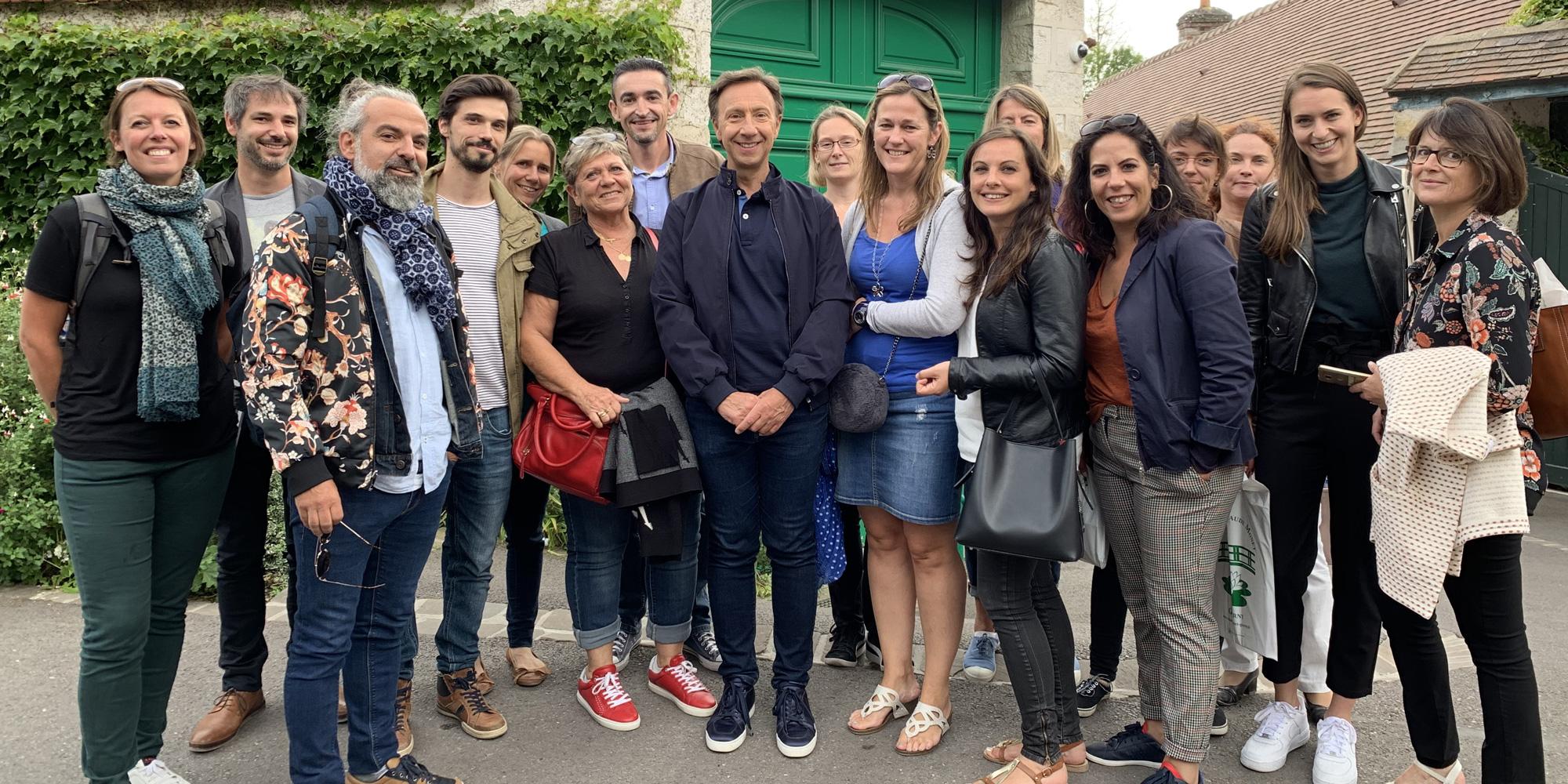 Visite de Giverny avec Notabene