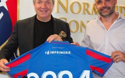 NII Imprimerie, nouveau partenaire maillot du SM Caen